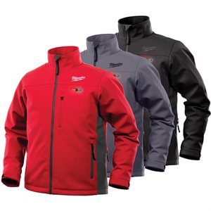 202B-20_202R-20_201G-20 - Heated Jacket - TOUGHSHELL Only - MILWAUKEE