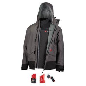 Manteau de pluie et veste chauffante Milwaukee