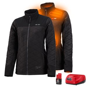 233B-21 - Manteau léger chauffant AXIS - Ensemble pour femme - MILWAUKEE
