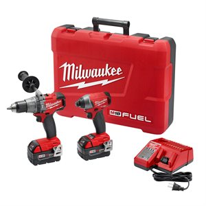 2897-22 - M18 Fuel 2-Tool Combo Kit - MILWAUKEE