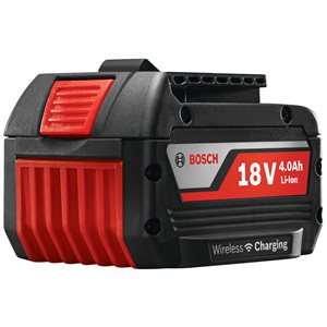 BAT620-2PK Ensemble de 2 batteries FatPack Lithium-Ion 18 V de 4,0 Ah - BOSCH