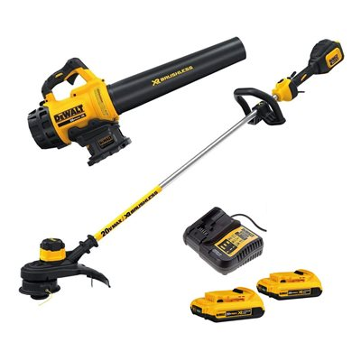 Blower and String Trimmer 20V Kit Dewalt DCKO97D2