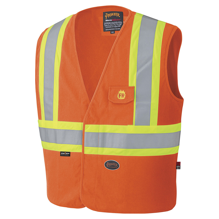 PIONEER - 100% COTTON FLAME RESISTANT SAFETY VEST
