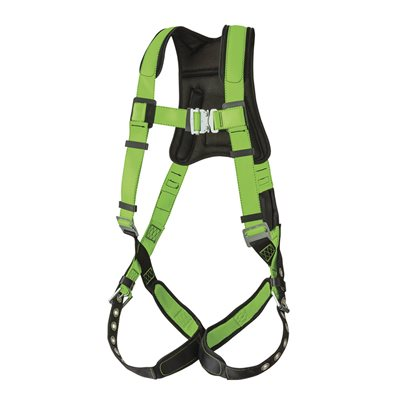 PEAKWORKS - V8006200 - PEAKPRO HARNESS - 1D - CLASS A - STAB LOCK CHEST BUCKLE - GROMMETTED LEG STRAPS - FBH-60120A