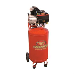 8498 - Compresseur à air 5 CV (débit Max) de 20 gallons - KING CANADA