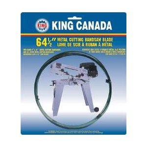 """KBB-115-18 - Lame de scie à ruban pour le métal 64-1 / 2"""" x ,025"""" 1 / 2"""" -18 DPP - KING CANADA"""