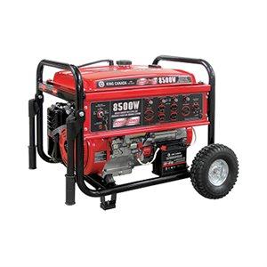 KCG-8500GE - Génératrice à essence 8500W avec démarrage électrique et roues - KING CANADA