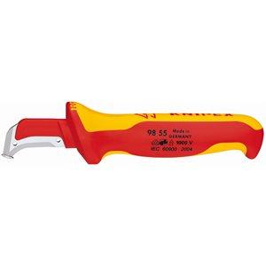98 55 - Couteau de démantèlement – Isolé 1000V 9855 - KNIPEX