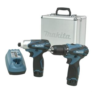 """12V PIECE COMBO 3 / 8"""" DRIVER DRILL / 1 / 4"""" IMPACT (FD02Z / DT"""