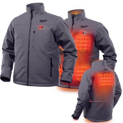 201G-21XL - Heated Jacket - TOUGHSHELL Kit - MILWAUKEE