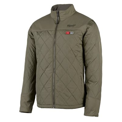 Manteau chauffant Milwaukee - AXIS Olive 3X large