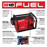 Compresseur silencieux compact 2 gallon M18 Fuel