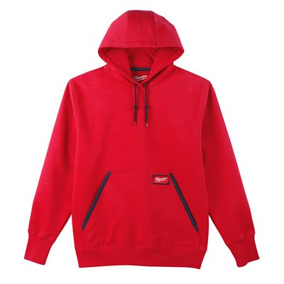 Chandail à capuchon type Hoodie - Rouge S