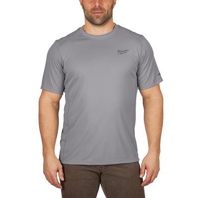 T-Shirt léger manches courtes - Gris 3X