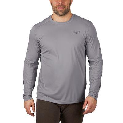 T-Shirt léger manches longues - Gris L