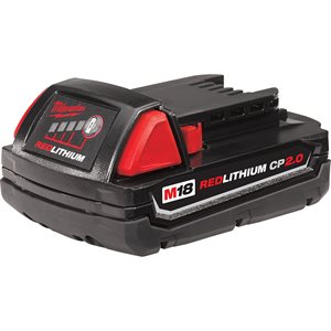 MILWAUKEE - 48-11-1820 - M18™ REDLITHIUM™ 2.0 Compact Battery Pack