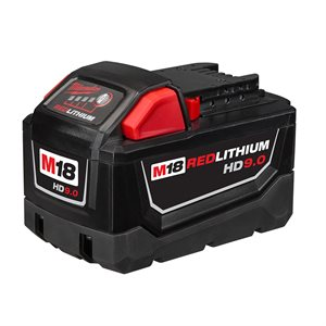 MILWAUKEE - 48-11-1890 - 9.0AMP 18V BATTERY