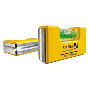 11995 POCKET PRO MAGNETIC LEVEL W / HOLSTER (8 PAK) - STABILA