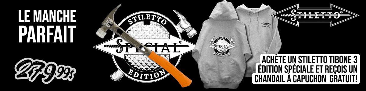 Stiletto Édition Spéciale TB3MCSE avec chandail